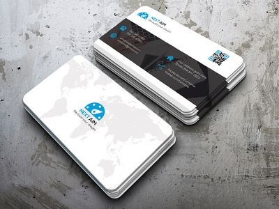 Corporate Business Card  attractive awesome both side design business card cool corporate corporate business card creative design modern design simple standard