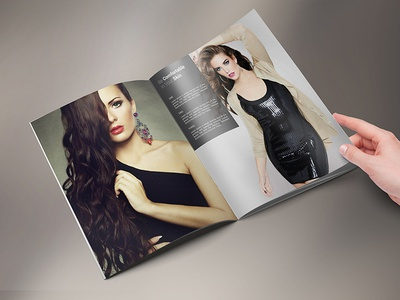 Simply Fashion Portrait Brochure  18 Pages