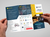 Comjagat Technologies Trifold Brochure (Outside)