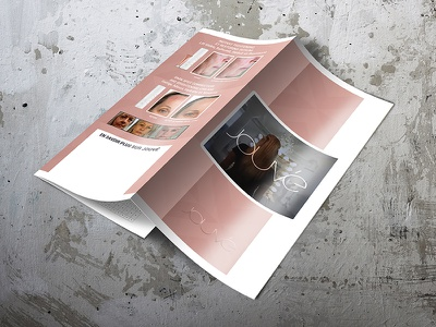 Trifold Brochure for Jouvé before-after brightening cream brochure dark spot japanese coral grass moisturises real ingredients safe swiss snow algae trifold trifold brochure