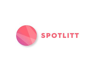 Spotlitt logo performing artists cms spotlight spotlit spotlitt