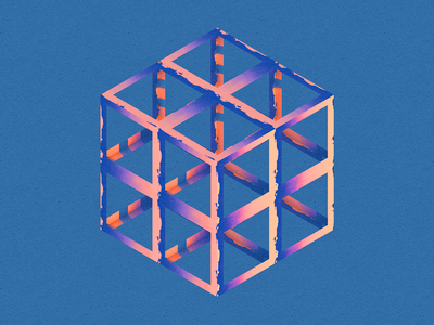 Geometry geometry 3d low poly abstract shape experiment color