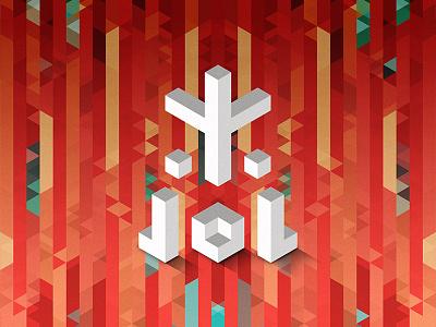 Trixels low poly trixel hexels abstract art color shapes fez