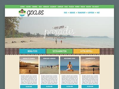 Goa.se Mockup web goa india paradise travel