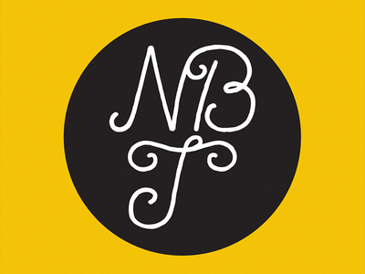 Next Big Thing logo monogram branding typography india type agency