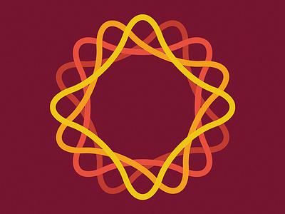 Little Something experiment form vector lines line monogram logo branding