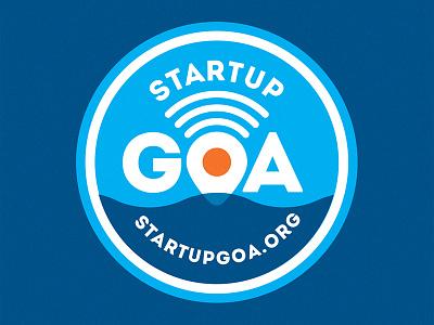 Startup Goa goa india startup branding logo monogram type