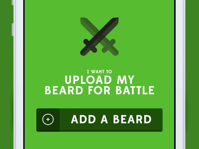 Beardr - Coming soon! dating android iphone app hipster beards beard made with invision