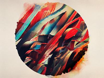64 Watercolored Lines 3d abstract color artwork art wallpaper download free cinema 4d render