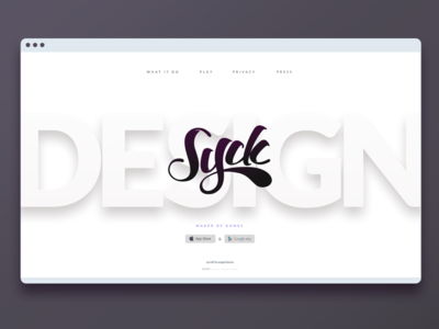 Syck Home Page