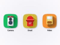 轻拟物图标(icon)