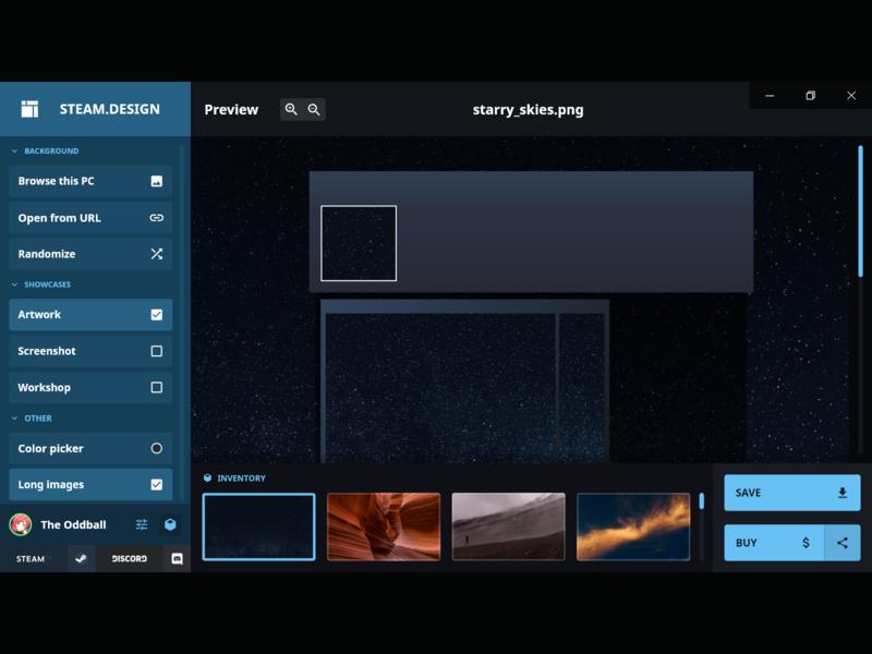 Steam.design app mockup ui mockup screen steam