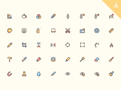 40 Design Icons icon free
