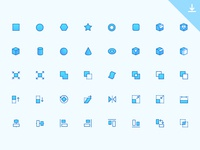 40 CAD Icons