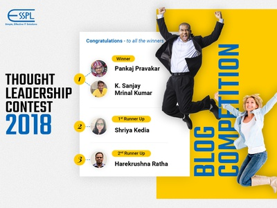 Thought Leadership Contest 2018