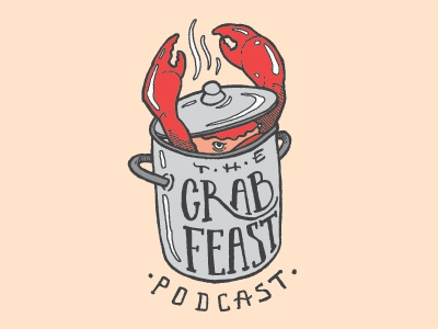 Crab feast dribbble