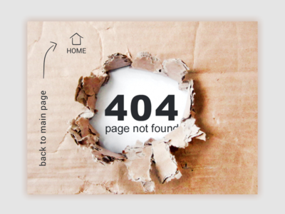 404 Page paper 404 page