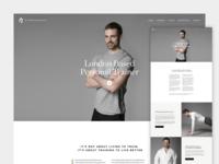 FitnessArtz One Page Concept