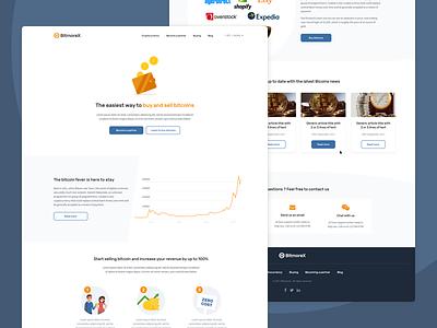Virtual Bitcoin ATM Software - Bitmorex design responsive software marketplace bitcoin ux landing page website webdesign ui