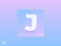 """Day 10 - """"J""""  20 DAY GRADIENTYPE"""
