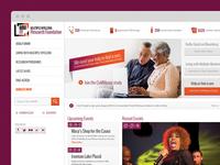 MMRF Homepage Design