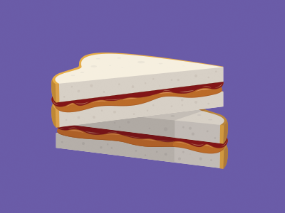 Peanut Butter Month peanut butter november peanut butter month illustration vector sandwich food drawing icon graphic