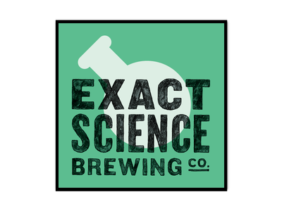 Exact Science Brew Labels logo identity beer branding