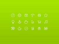 Air Bank Icon set