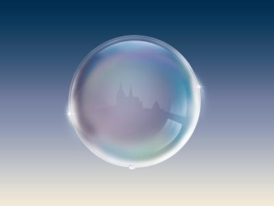 Bubble bubble prague icon