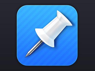 Pushpin for Pinboard Icon pin pinboard icon ios iphone