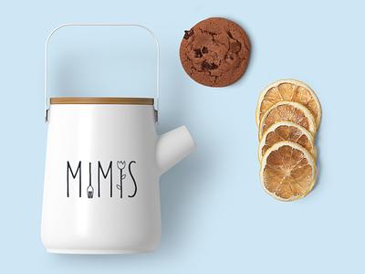 Mimis Branding logo food branding