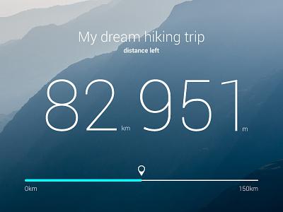 Dream Trip ux branding app web flat ui typography design