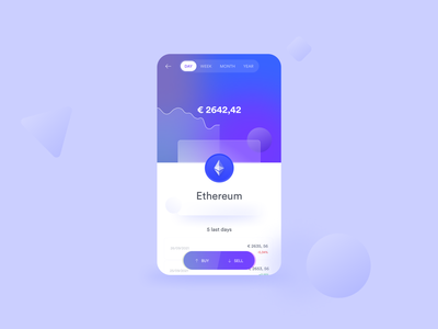 Crypto exploration ui app concept interface mobile ui cryptocurrency investment app crypto exchange ethereum mobile app design ui