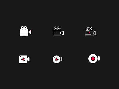 Camera Icon live upload camera research icon