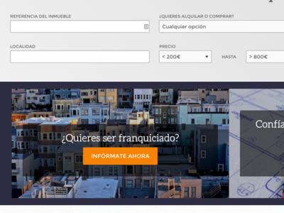Alquilotucasa sketch blog real estate properties home ui design web design