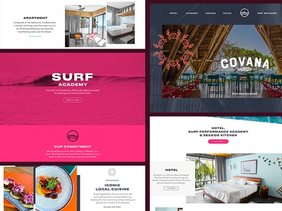Surf Website Preview