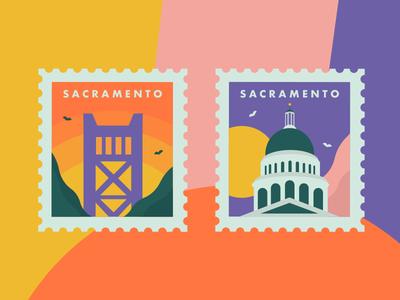 Sacramento Stamps