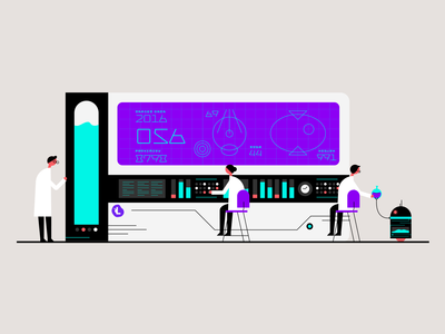 The Lab - Research Spot Illustration