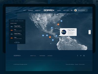 Ocearch - Tracker