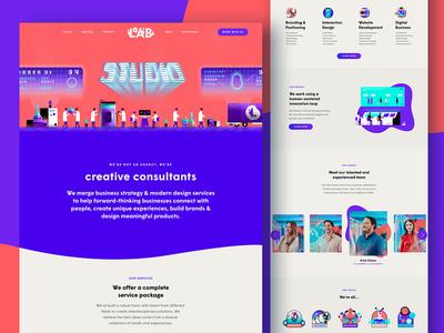 The Lab Studio - Studio Page