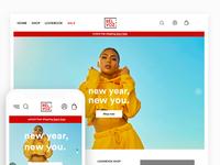 Bèlvoz eCommerce Home Page pt 2