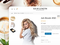 Gothelength eCommerce PD page
