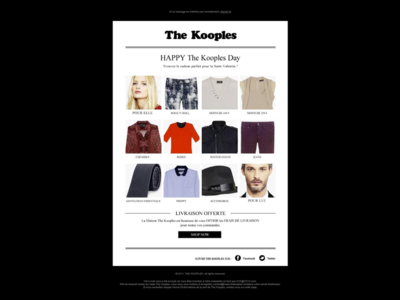 The Kooples Newsletter