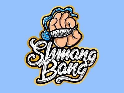 Smang Bag vector shirt merch design brand lettering logo art script typography letter lettering smoking ciggarette cigg