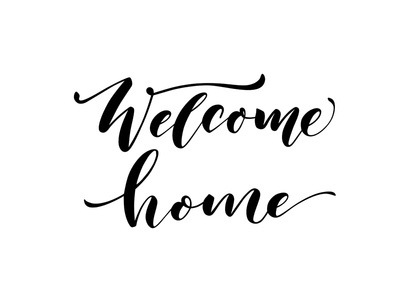 Welcome home.