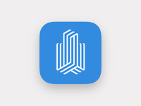 Canary Wharf leasing app icon