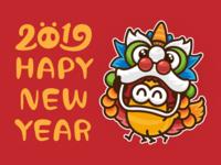 Happy New Year 2019~