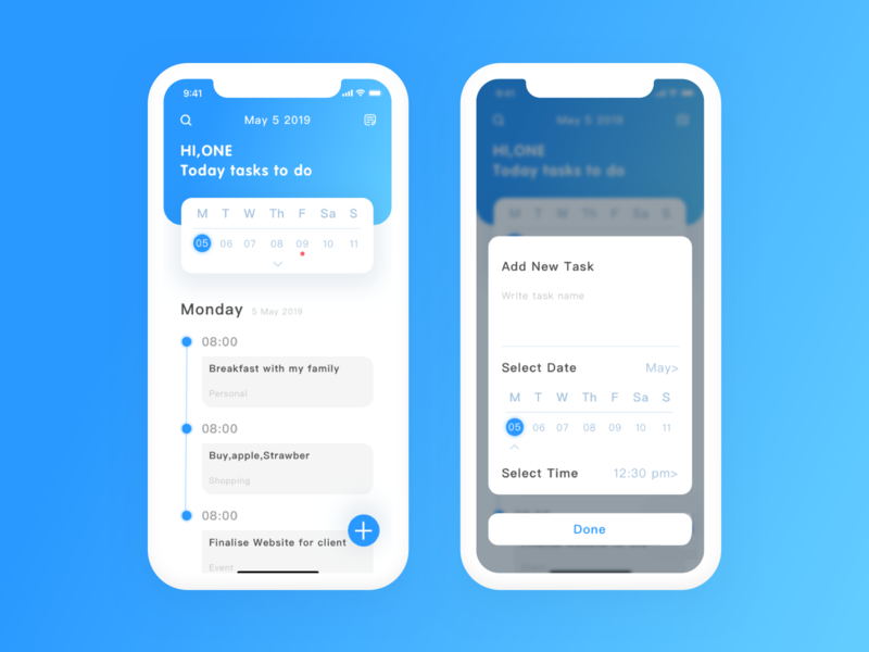 To do list icon ux typography characer design ui