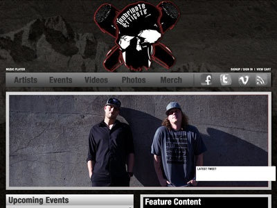 Indefinate Etticate Website ui css3 jquery web