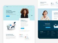 Dougs Landing Page landing ux ui art direction branding interface desktop product webdesign design